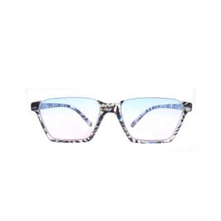 Fashion Women Half Frame PC Reading Glasses LR-P6664
