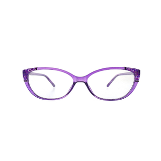 Purple Color Lady Cat Eye Personal Optics Reading Glasses LR-P5816