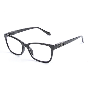 2020 Fashion Blue Light Blocking Reading Glasses Plastic Frame Unisex Reading Eyewear 1LR-P6944