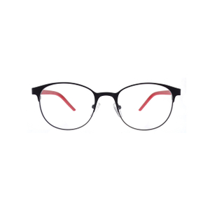 Fashion Two-tone Color Metal Optical Frames Eyeglasses LO-M434