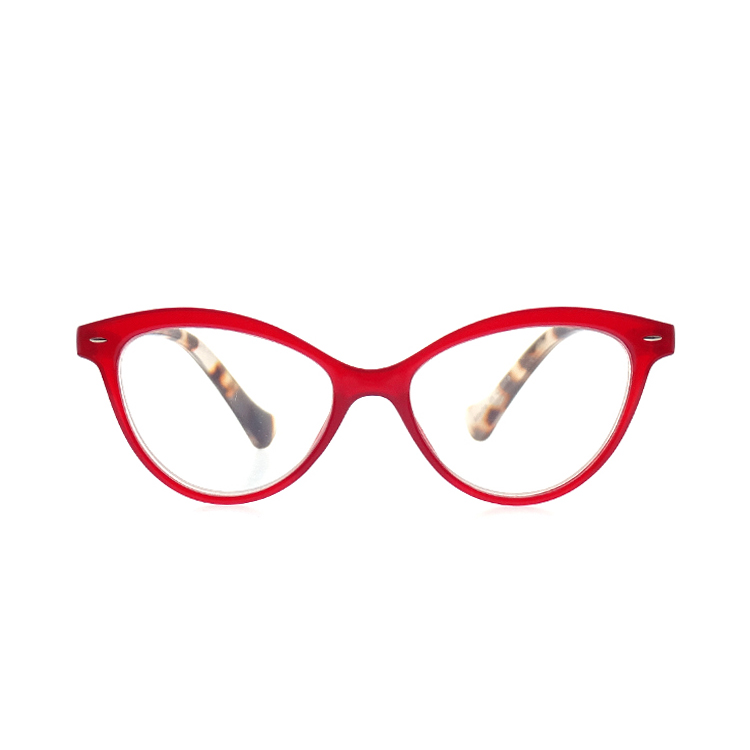 Cat Eye Plastic Reading Glasses Women Fashion Eyewear LR-P4851